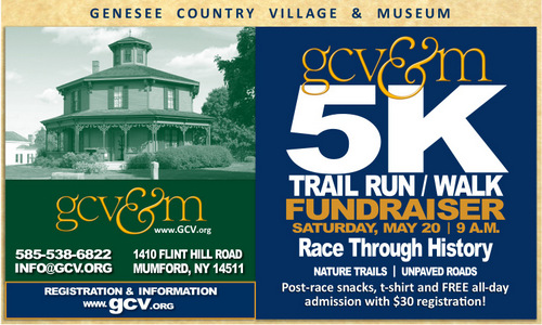 Lace up and get ready for the area's newest trail run!