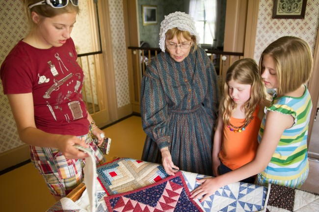 Quilting (Grades 3-12 and adult groups)