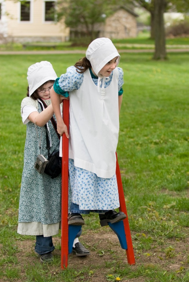 One of our favorite events of the year! Laura Ingalls Wilder Days