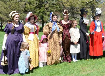 19th-Century Fashion (Grades 7-12 and adult groups)