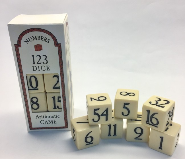Number Dice Game