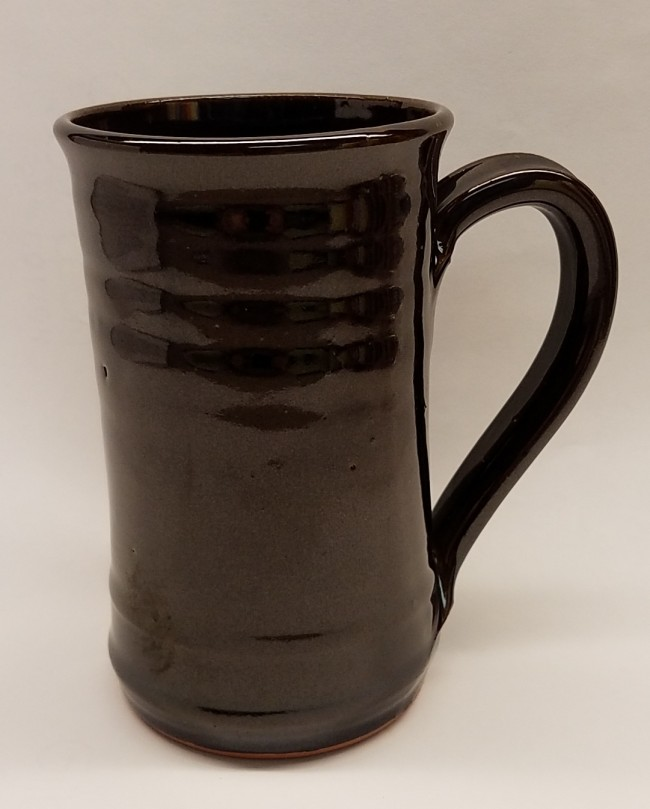 Albany Slip Glaze Mug Straight-Sided