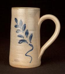 Salt Glaze Mug Straight-Sided