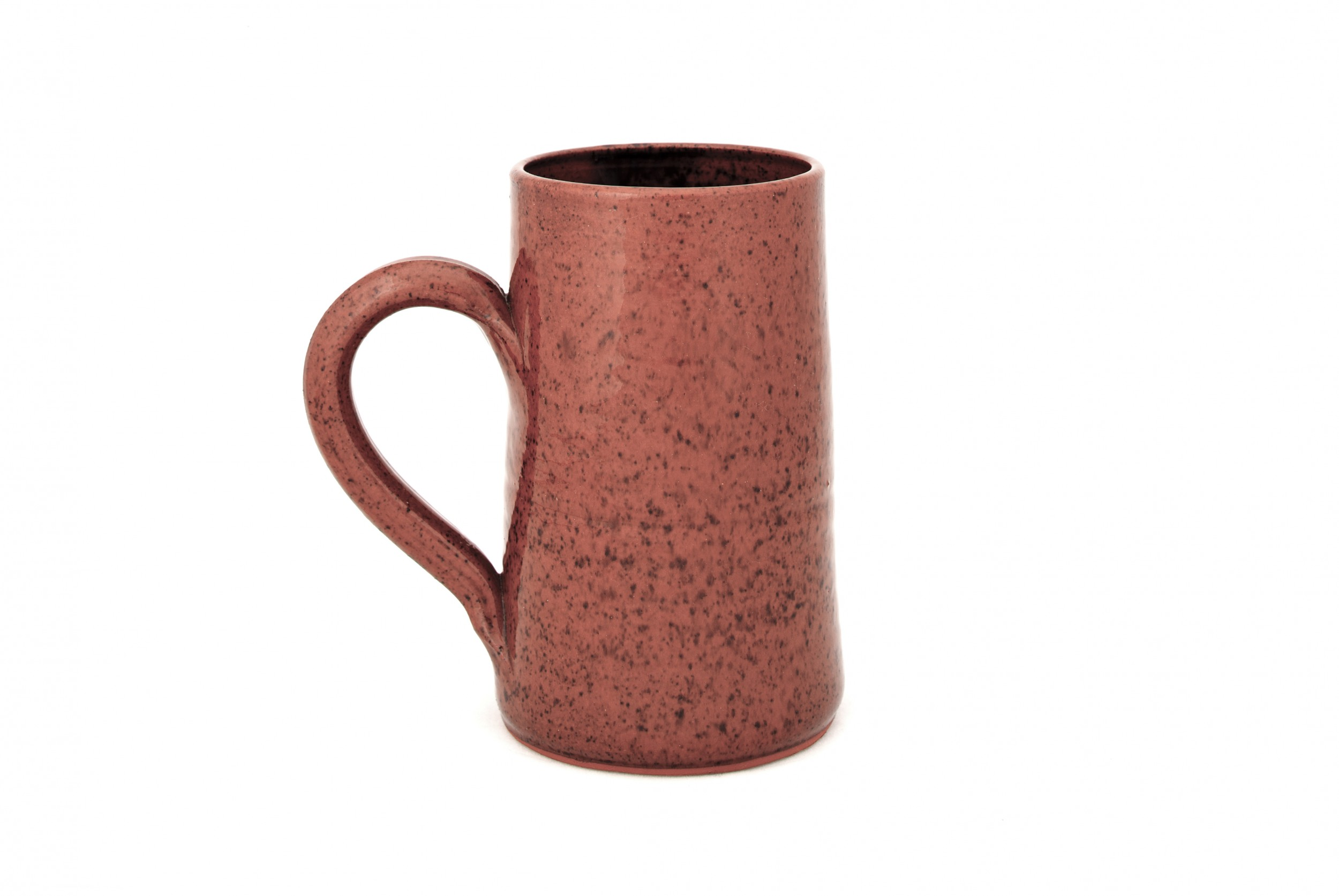 Redware Mug Straight-Sided